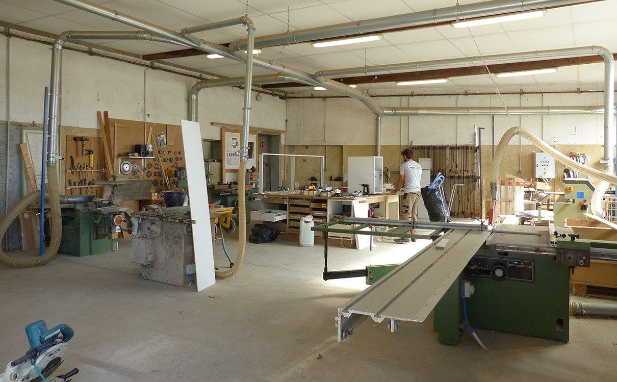 Atelier Rolber menuiserie Béziers