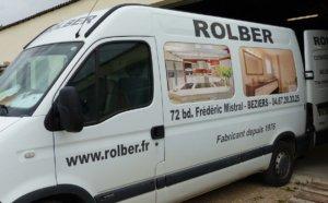Menuisier Rolber à Béziers depuis 1976